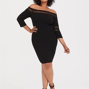 NEW WITH TAGS! Torrid Bodycon Dress Size 0X